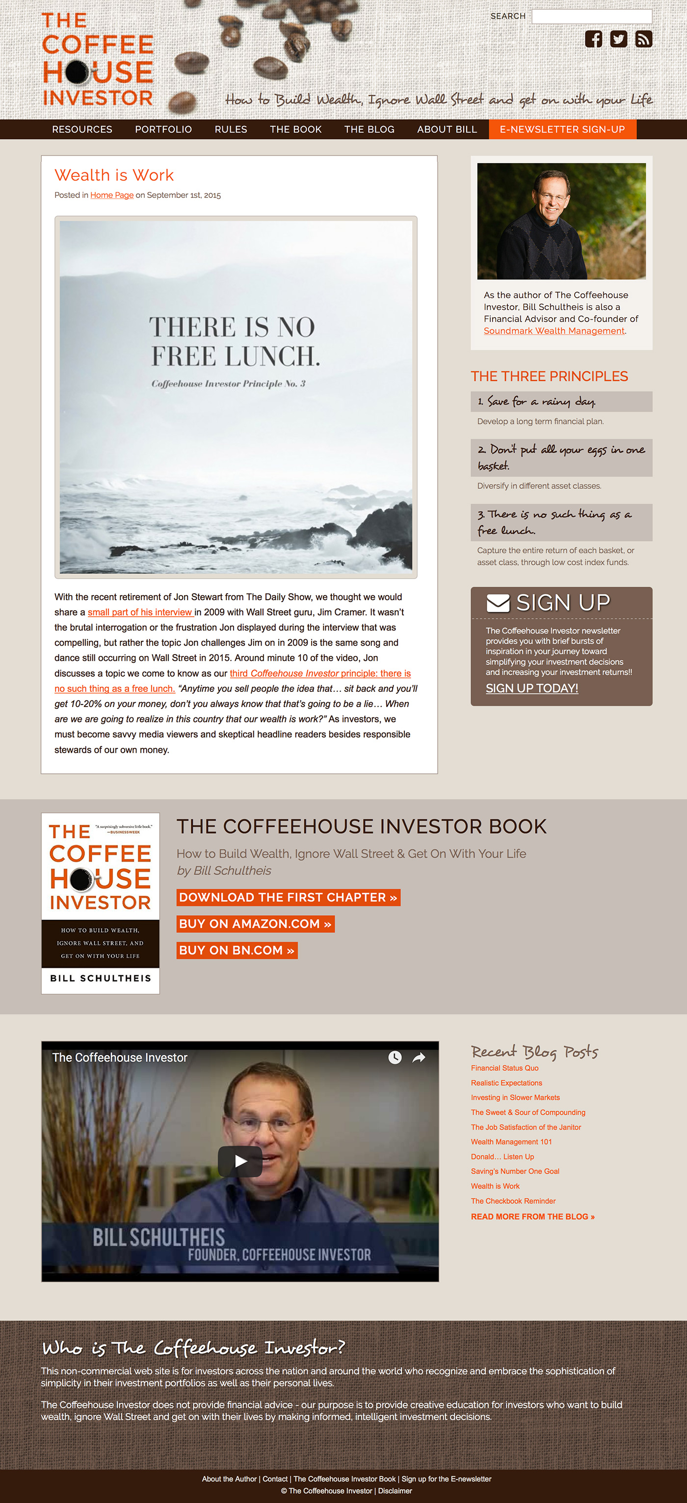 Coffeehouse Investor