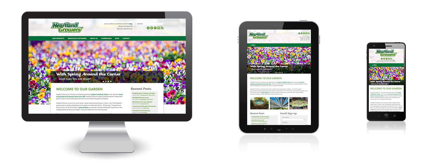Heartland Growers - Responsive Views