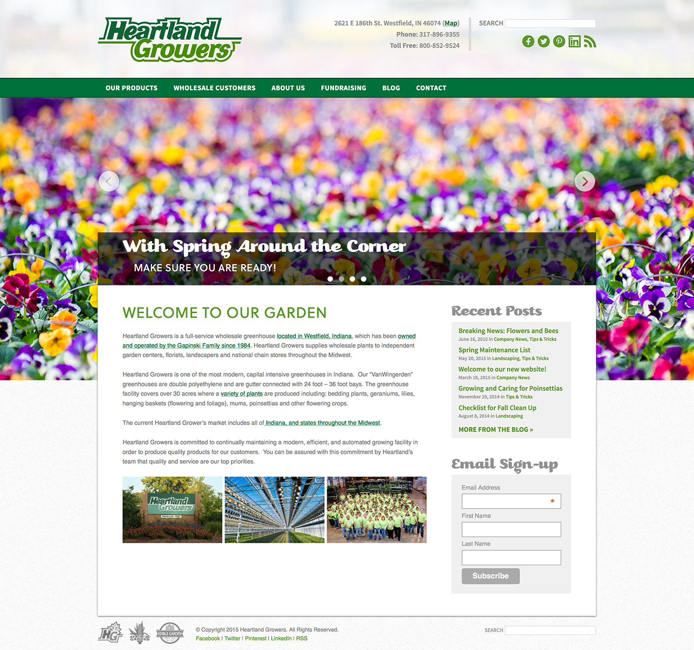 Heartland Growers Website