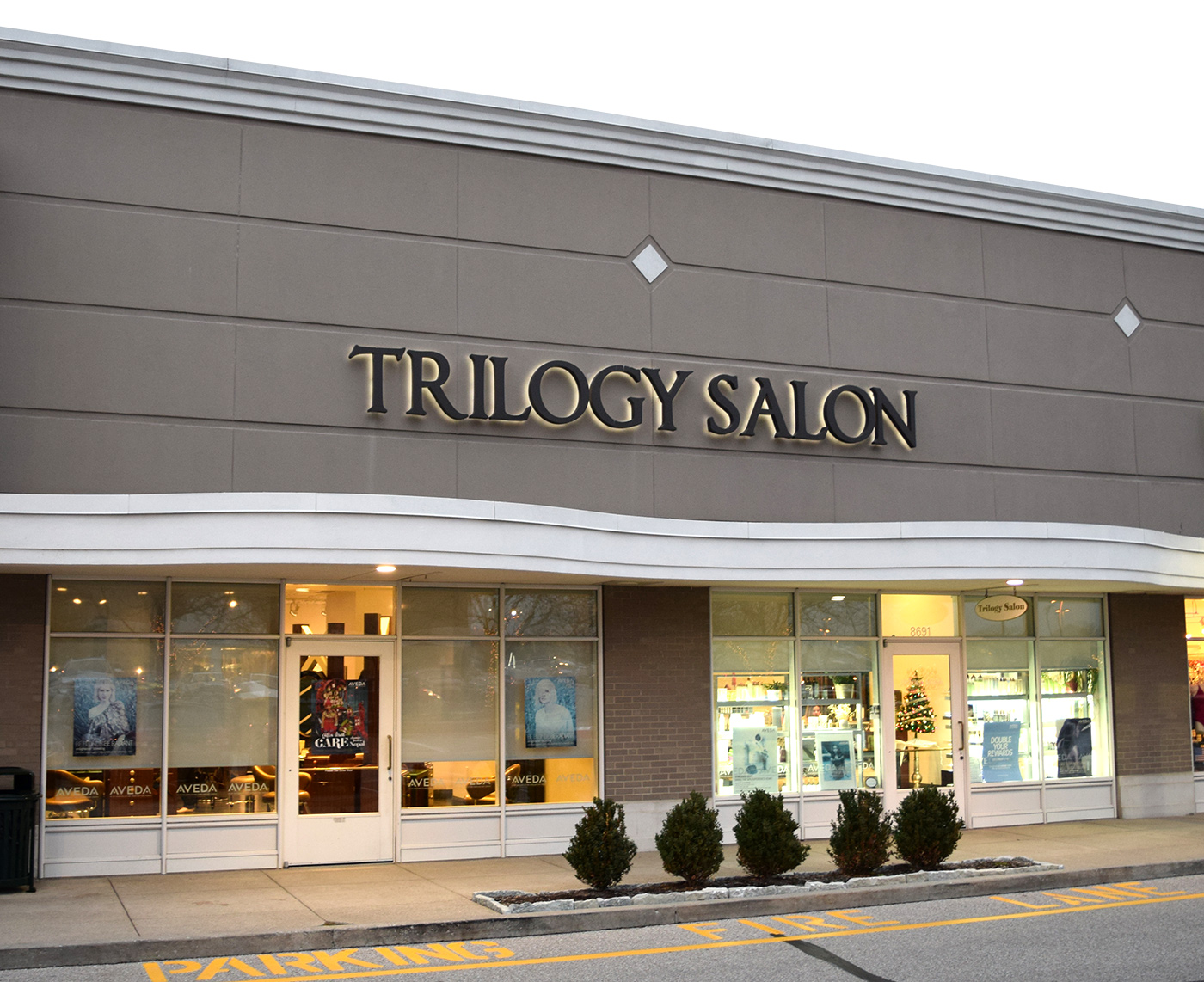 Trilogy Salon Exterior