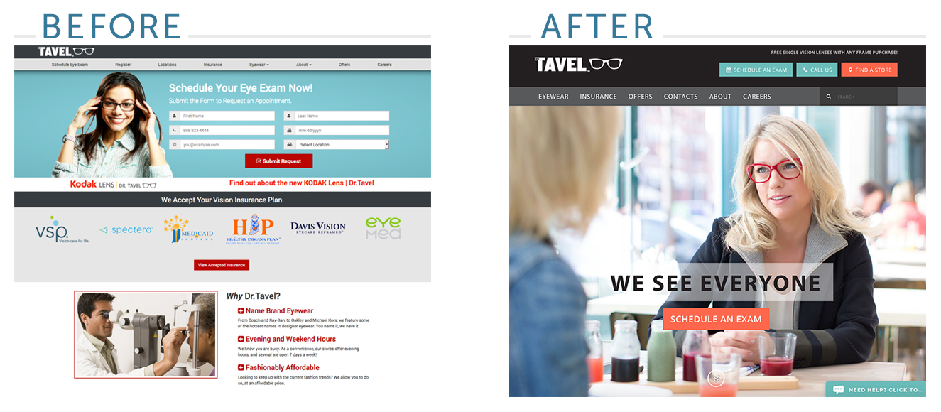 Dr. Tavel Website